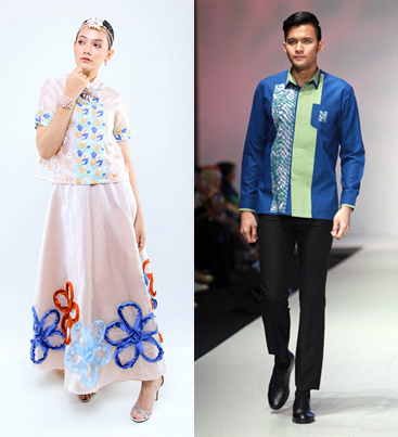 Yurita Puji and Agus Lahinta fashion show at Couture Fashion Week NY