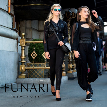 FUNARI New York fashion show at Couture Fashion Week NY