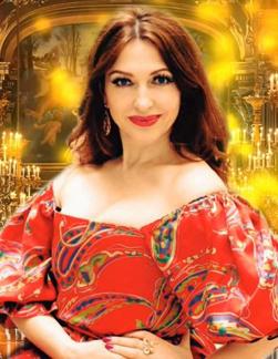 Singer Oleksandra Hrabova