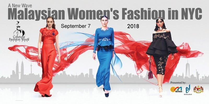 Top Malaysian designer fashion shows at Couture Fashion Week NY