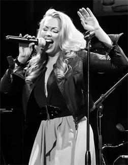 Singer Angella Michele Walker