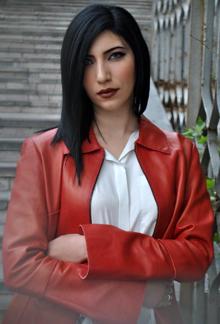 Dancer, choreographer, photographer and filmmaker Anna Khachatryan