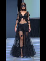 Adamaya fashion show at Couture Fashion Week NY