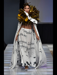 "Andres Aquino ""Tango Cabaret"" fashion show at Couture Fashion Week NY"