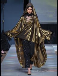 Mak Cun by Erma Fatima fashion show at Couture Fashion Week NY