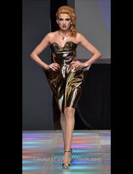 Mashail Alghamdi fashion show at Couture Fashion Week NY