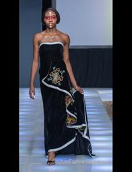 P'Lo by Nancy Jullok fashion show at Couture Fashion Week NY