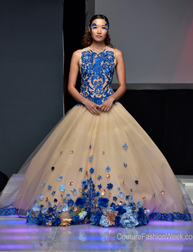Sheri Autry Couture fashion show at Couture Fashion Week NY