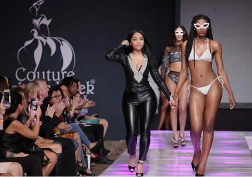 IngaSez Luxury Swimwear fashion show at Couture Fashion Week NY