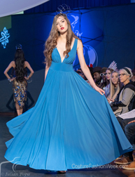 Alexandra Popescu-York Fashion Show at Couture Fashion Week New York