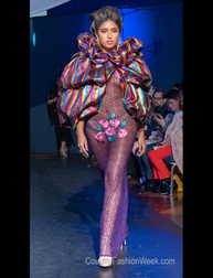 Andres Aquino Fashion Show at Couture Fashion Week New York