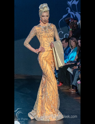 Frank Osodi for House of Bunor Fashion Show at Couture Fashion Week New York