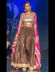 Juhi Jagiasi Fashion Show at Couture Fashion Week New York