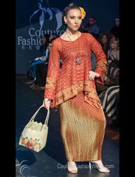 Yans Creation by Yani Bakhtiar Fashion Show at Couture Fashion Week New York