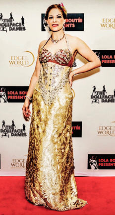Kapriva Couture Fashion Show at the Global Short Film Awards Gala, Cannes, France