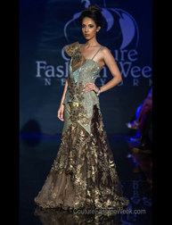 Anjali and Rashmi fashion show at Couture Fashion Week New York
