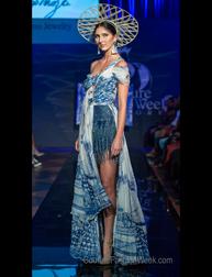 Milu Espinoza fashion show Couture Fashion Week New York