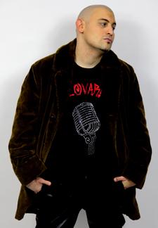 Singer and Actor Lovari
