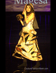Diana Magesa fashion show Couture Fashion Week New York